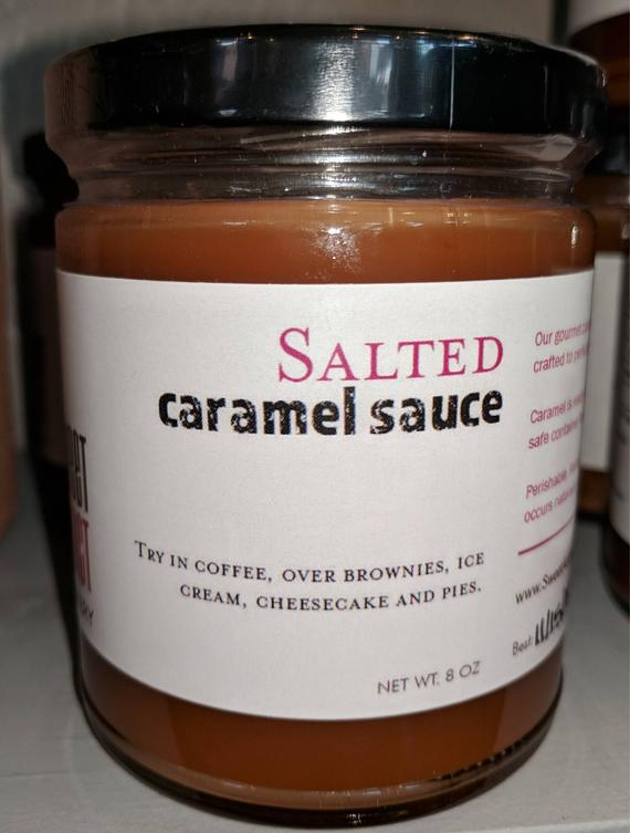 Salted Caramel Sauce Great for fruit coffee ice cream and | Etsy