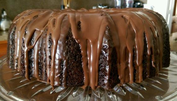Vegan Triple Chocolate Beet Bundt Cake | Etsy