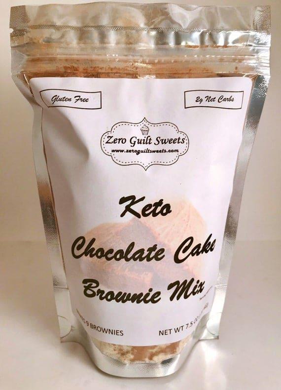 MIX Keto Chocolate Cake Brownie Mix | Etsy