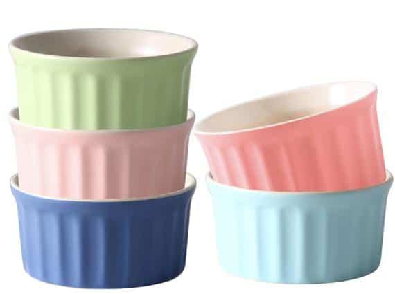 Cestash Oven Safe Baking Ramekin Dishes 6 Oz. Ceramic | Etsy