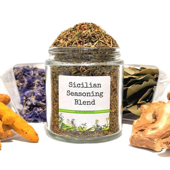 Sicilian Italian Seasoning Blend Gourmet Herbs Gluten Free | Etsy