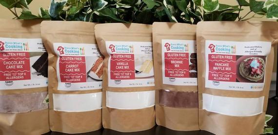 Gluten Free/Nut Free Baking Mixes | Etsy