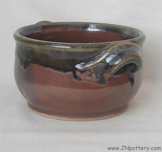 Ceramic Soup Crock Handmade Stoneware Bake and Serve Dish | Etsy