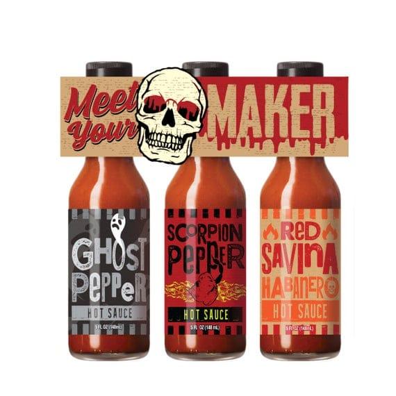Meet Your Maker Hot Sauce Gift Set | Etsy
