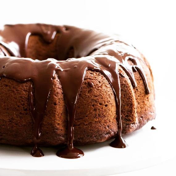 Chocolate bundt cake | Etsy