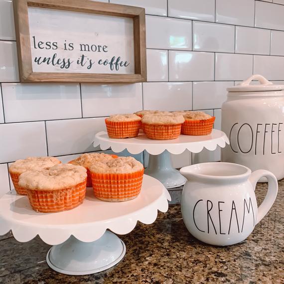 Gluten Free Coffee Cake Muffins | Etsy