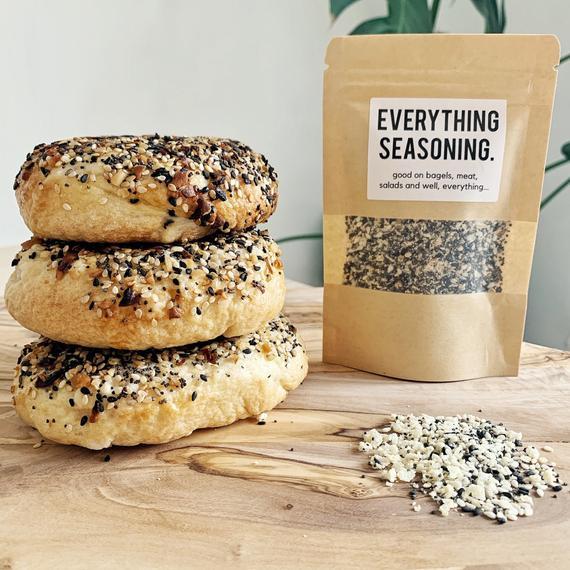Everything Bagel Seasoning Mix American Style New York Gift | Etsy