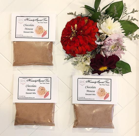 Chocolate Mousse Gourmet Dessert Mix | Etsy
