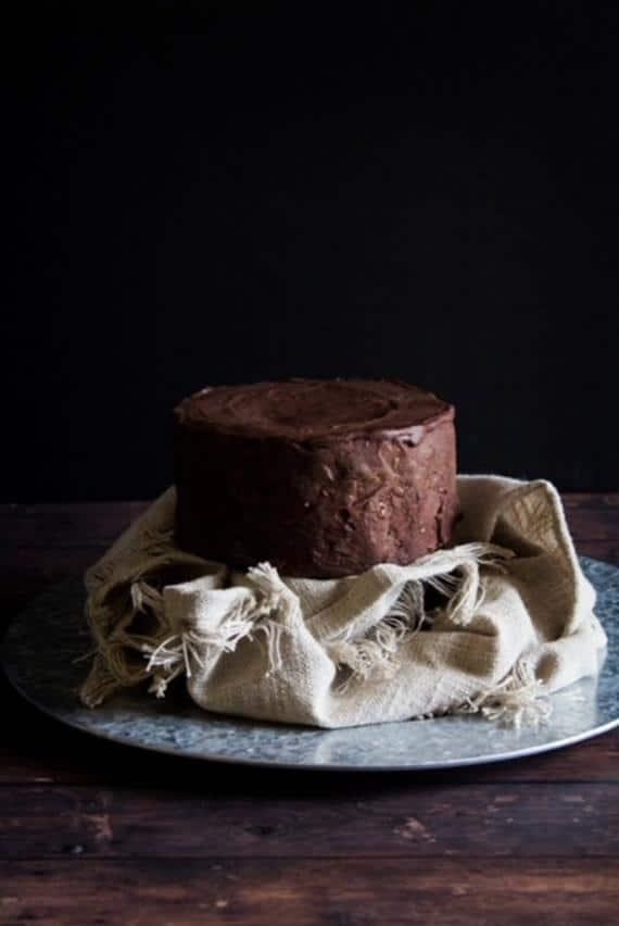 Dark Chocolate Cheesecake 4X2 in. | Etsy