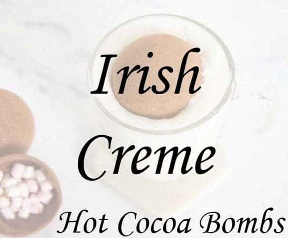 Irish Creme Limited Edition Hot Cocoa Bombs | Etsy