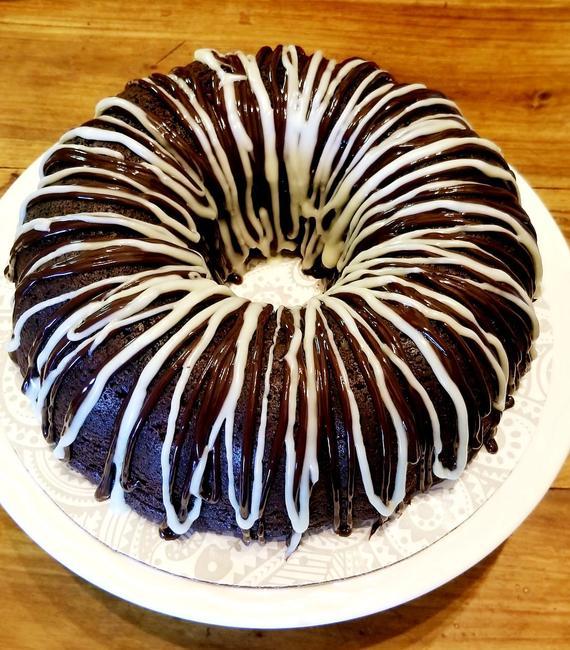 Chocolate Bundt Cake Free Domestic Priority Mail | Etsy