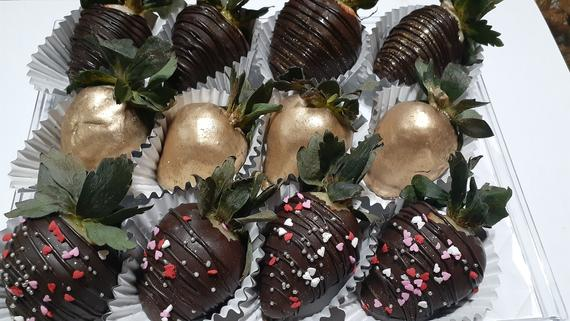 1 Dozen Chocolate covered treats | Etsy