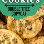 DoubleTree cookies in bowl on white table