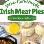 Meat Pie collage
