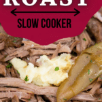 Pot roast in slow cooker