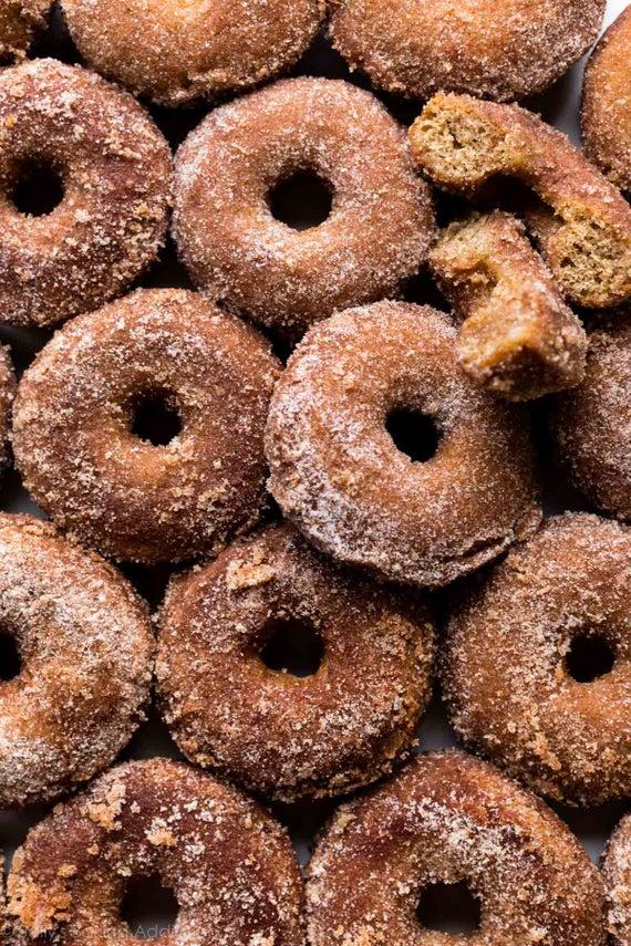 Baked apple cider donuts 1 dozen | Etsy
