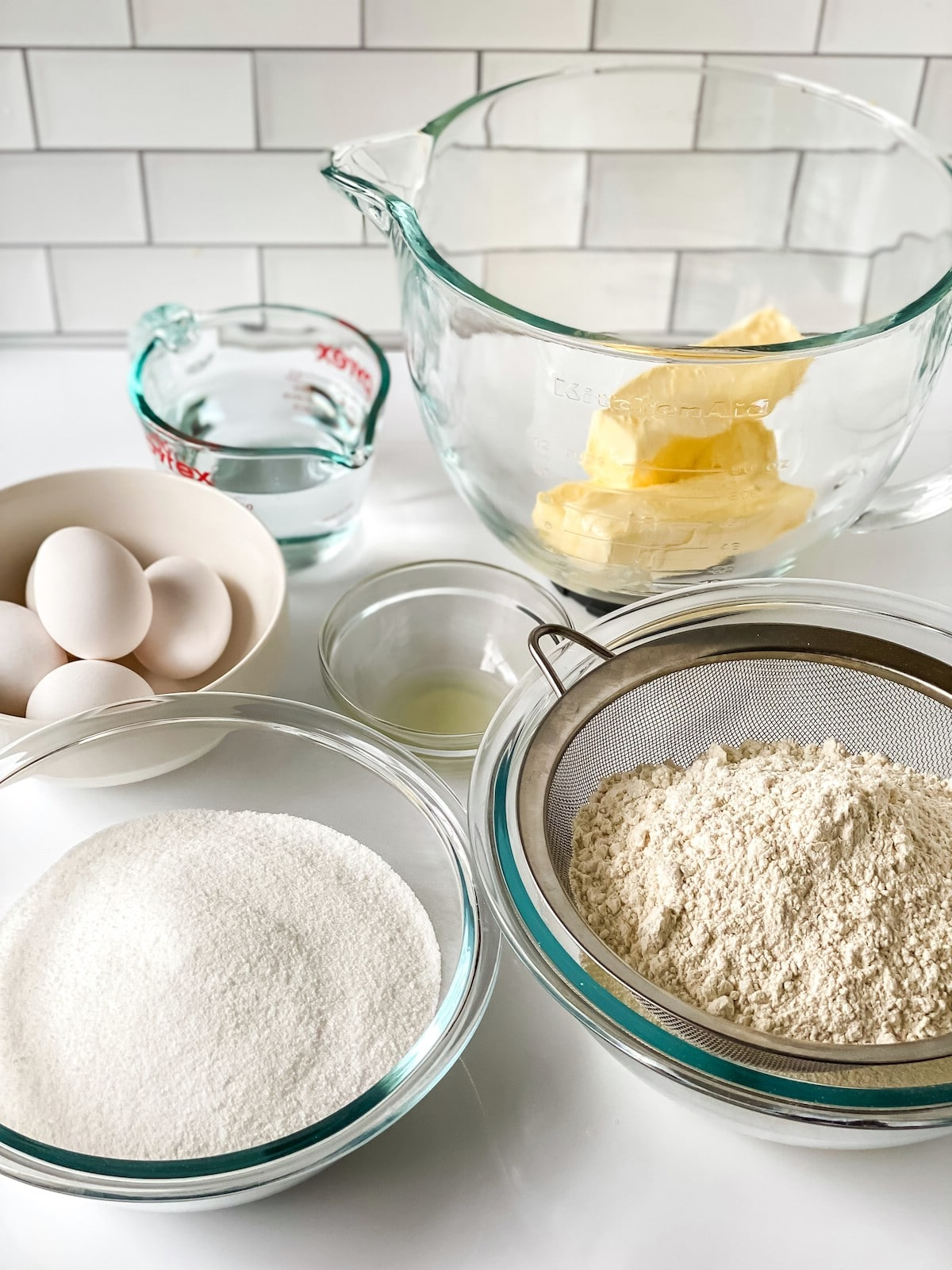 Ingredients for 7 up cake recipe