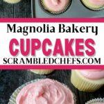 Magnolia bakery cupcake collage