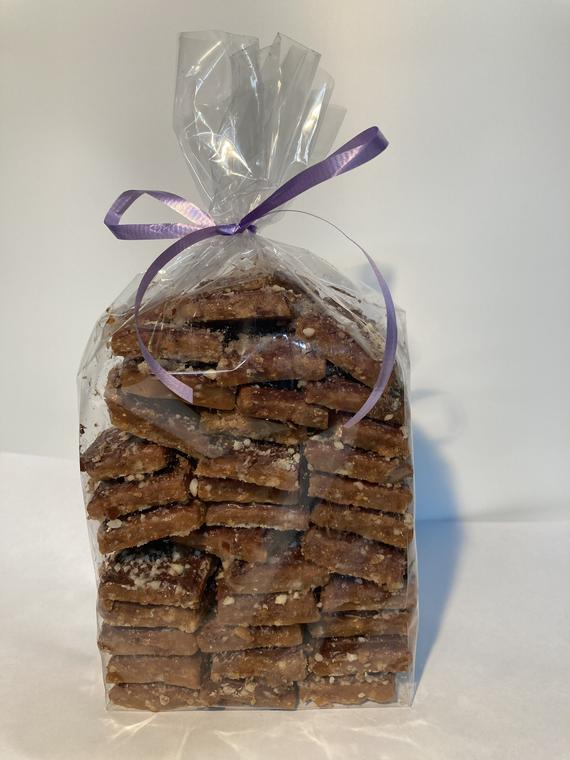 Eileen's Authentic English Toffee 1 Pound Homemade &   Etsy