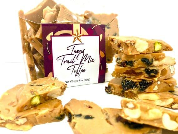 Texas Trail Mix Toffee Trail Mix Toffee Trail Mix   Etsy