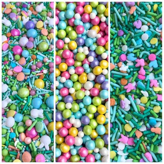 Manvscakes Easter 3 pack Jimmies Easter sprinkles | Etsy