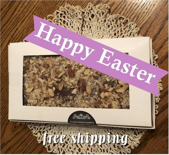 Yummy English Toffee 1 pound Gift Box of Traditional   Etsy