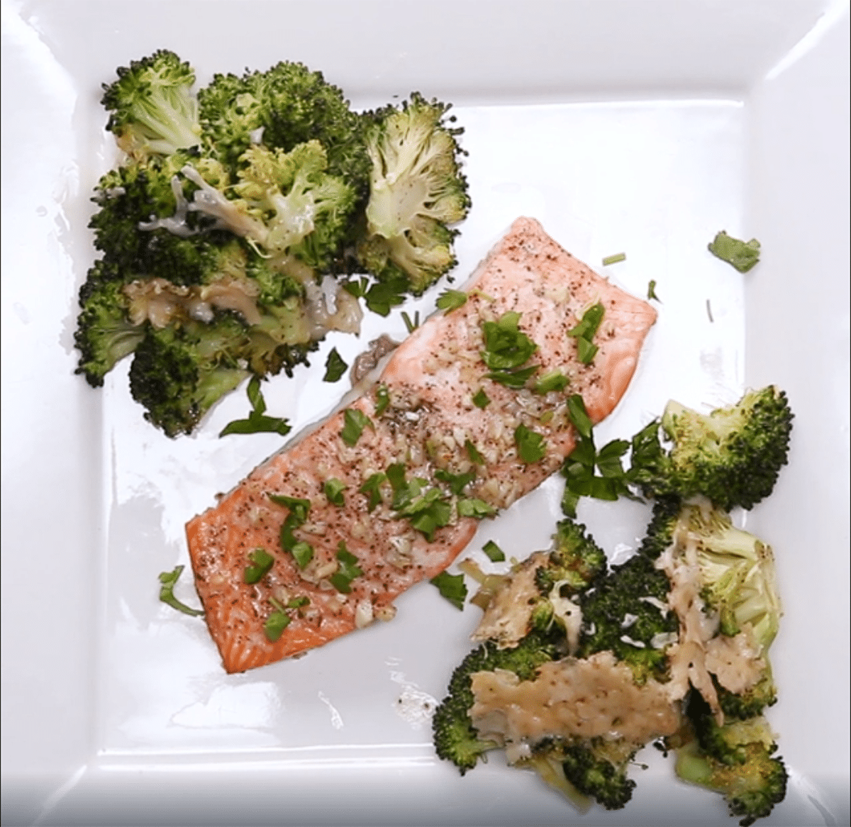 One-pan Garlic Butter Salmon