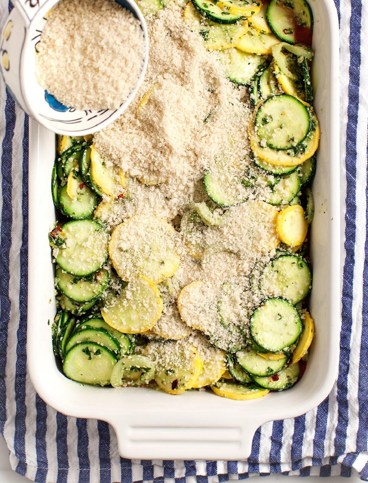 Crispy Zucchini Casserole