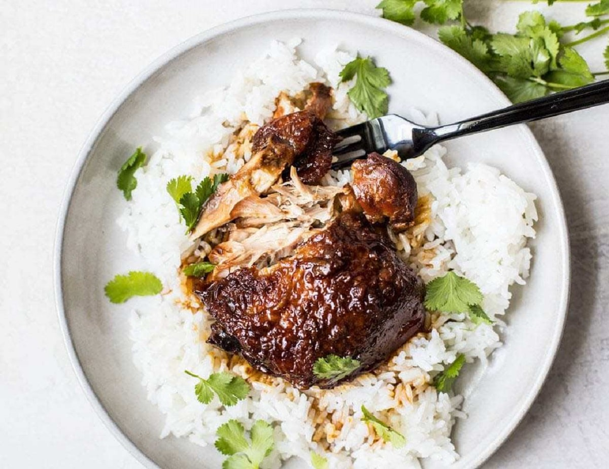Honey Hoisin Garlic Chicken