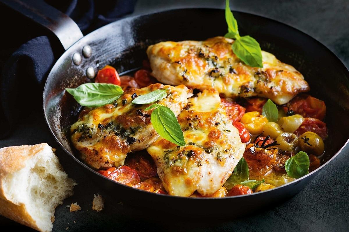 One-Pan Caprese Chicken
