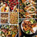 Collage image of chicken recipes