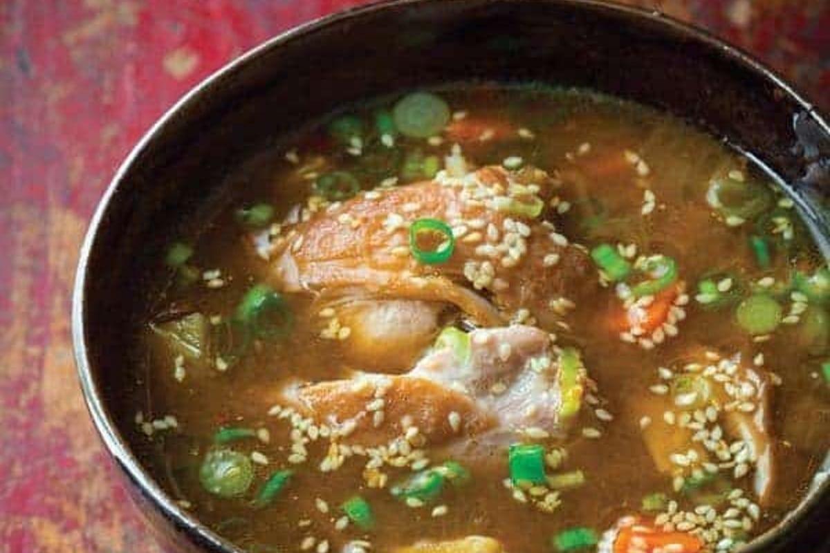 Chicken Thigh Hot Pot