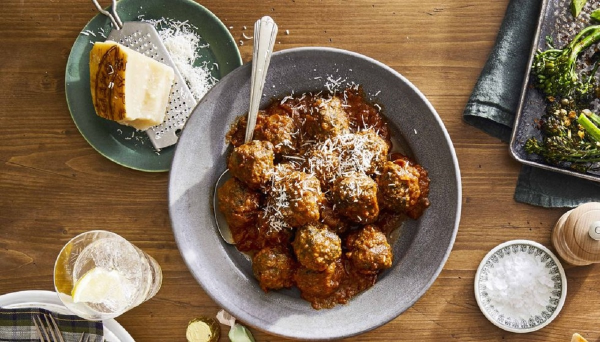 Spinach and Parmesan Meatballs