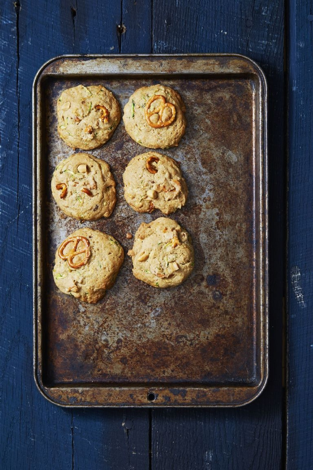 Sweet & Salty Zucchini Bread Cookies