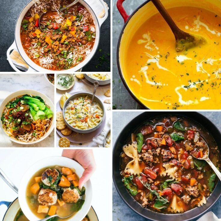 Vegan Chili Soup + 30 Comforting Soup Recipes