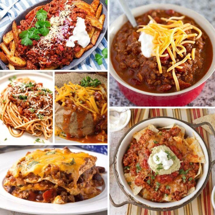 Chili Dog Bake + Meal Ideas for Leftover Chili