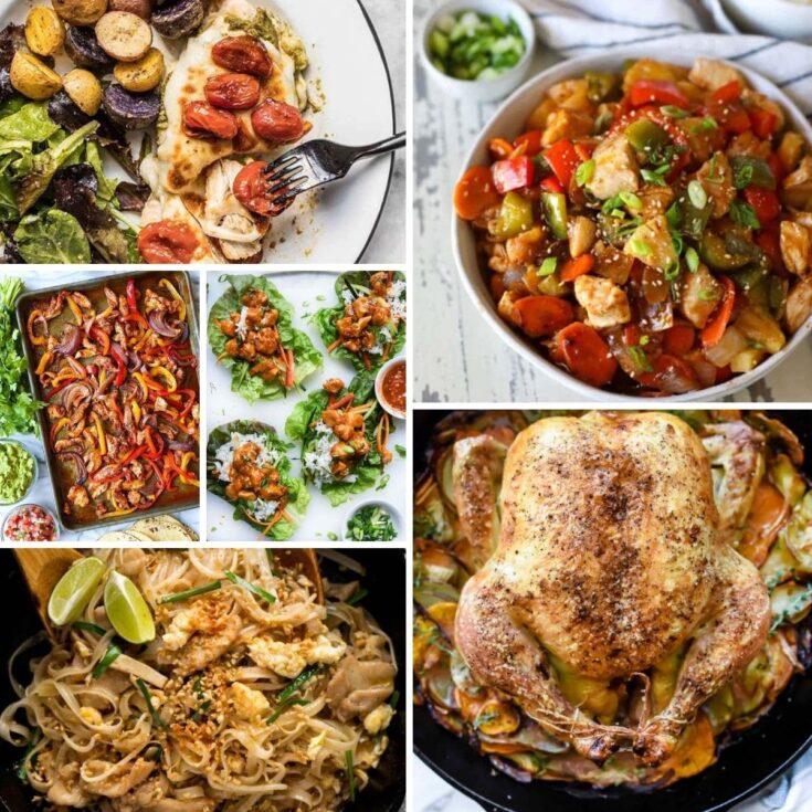 Chicken Spaghetti + 50 Chicken Dinner Recipes