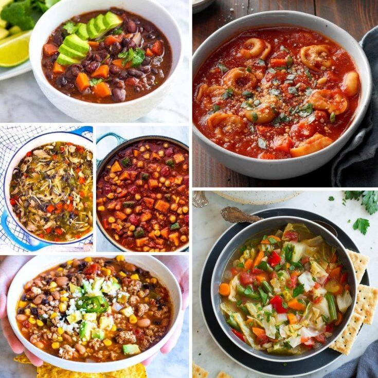 Chicken Noodle Soup + 30 More Soups & Chilis